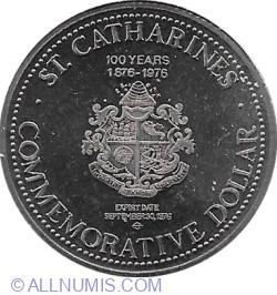 Image #1 of 1 Dollar 1976 - Saint Catharines
