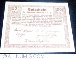 Image #2 of 50 Heller 1920 - Haindorf