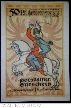 Image #2 of 50 Pfennig 1921 - Potsdam