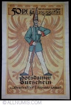 50 Pfennig 1921 - Potsdam