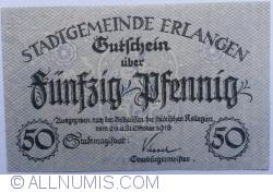 Image #1 of 50 Pfennig 1918 - Erlangen