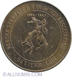 50 Cents 1966-1967 - PONOKA STAMPEDE & EXHIBITION ASSOCIATION