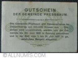 Image #2 of 80 Heller 1920 - Pressbaum