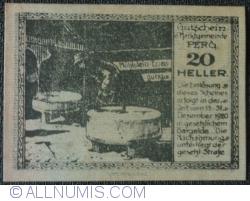 Imaginea #1 a 20 Heller 1920 - Perg