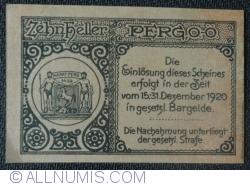 Imaginea #2 a 10 Heller 1920 - Perg