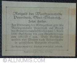 Imaginea #2 a 10 Heller 1920 - Peuerbach