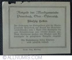 Imaginea #2 a 50 Heller 1920 - Peuerbach