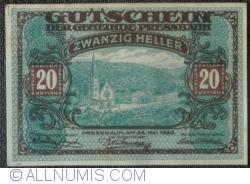Image #1 of 20 Heller 1920 - Pressbaum