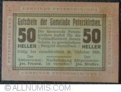 Image #1 of 50 Heller 1920 - Peterskirchen