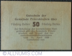 Image #2 of 50 Heller 1920 - Peterskirchen