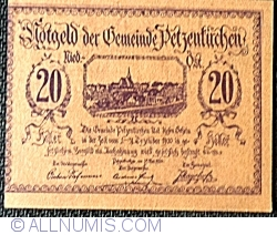 Image #2 of 20 Heller 1920 - Petzenkirchen