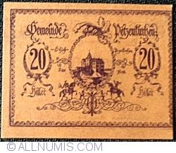 Imaginea #1 a 20 Heller 1920 - Petzenkirchen