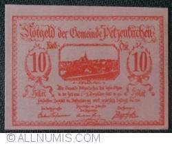 Imaginea #1 a 10 Heller 1920 - Petzenkirchen