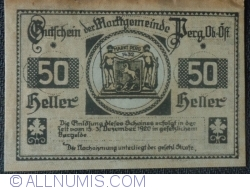 Imaginea #2 a 50 Heller 1920 - Perg