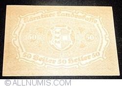 Imaginea #2 a 50 Heller 1920 - Carintia (Kärnten)