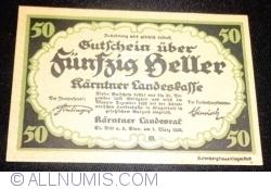 Imaginea #1 a 50 Heller 1920 - Carintia (Kärnten)