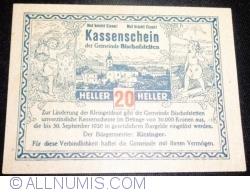 Imaginea #1 a 20 Heller ND - Bischofstetten