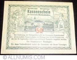 Imaginea #1 a 50 Heller ND - Bischofstetten