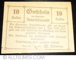 Image #1 of 10 10 Heller 1920 - Innerschwandt