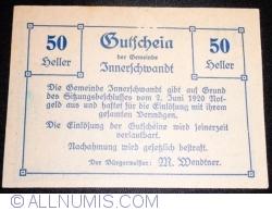 Image #1 of 50 Heller 1920 - Innerschwandt