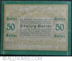 50 Heller 1920 - Wippenham