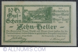10 Heller 1920 - Weyer Markt and Weyer-Land