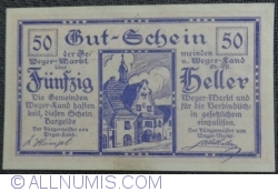 Imaginea #1 a 50 Heller 1920 - Weyer Markt și Weyer-Land