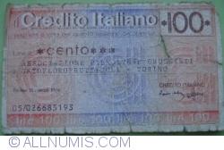 Image #1 of 100 Lire 1976 (15. III.) - Torino
