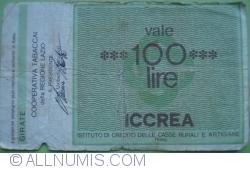 Imaginea #2 a 100 Lire 1977 (2. V.) - Roma