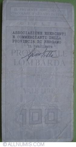 100 Lire 1977 (15. II.) - Bergamo