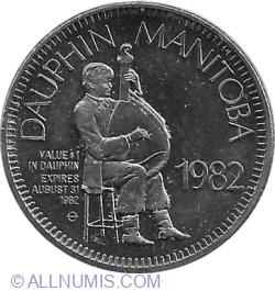 Image #1 of 1 Dollar 1982 - Dauphin
