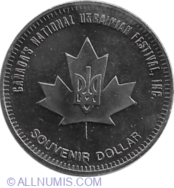 Image #2 of 1 Dollar 1982 - Dauphin