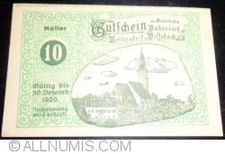 Image #1 of 10 Heller 1920 - Bubendorf, Weikersdorf, Wolfsbach
