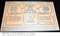 Imaginea #1 a 50 Heller 1920 - Aigen