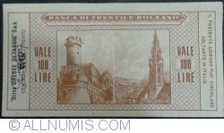 Image #2 of 100 Lire 1977 (3. III.) - Trento