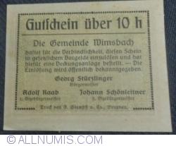 Imaginea #2 a 10 Heller ND - Wimsbach