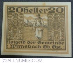 Imaginea #1 a 20 Heller ND - Wimsbach