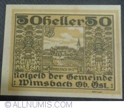 Imaginea #1 a 50 Heller ND - Wimsbach