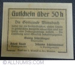 Imaginea #2 a 50 Heller ND - Wimsbach