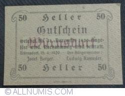 50 Heller 1920 - Würnsdorf