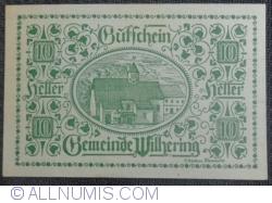 Imaginea #1 a 10 Heller 1920 - Wilhering