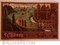 Image #2 of 50 Pfennig 1921 -  Schwäbisch Gmünd