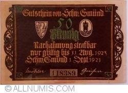 Image #1 of 50 Pfennig 1921 - Schwäbisch Gmünd