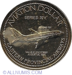 Image #1 of 1 Dollar 1995 Gander (Aviation Dollar)