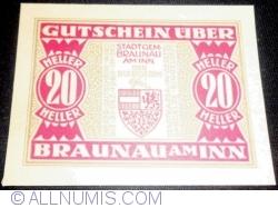 20 Heller 1920 - Braunau am Inn