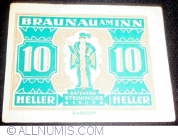 10 Heller 1920 - Braunau am Inn
