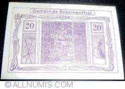 Image #1 of 20 Heller 1920 - Brunnenthal