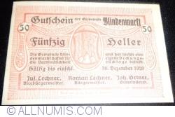 Image #1 of 50 Heller 1920 - Blindenmarkt