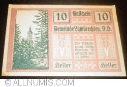 Imaginea #1 a 10 Heller 1920 - Lambrechten