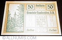 Imaginea #1 a 50 Heller 1920 - Lambrechten
